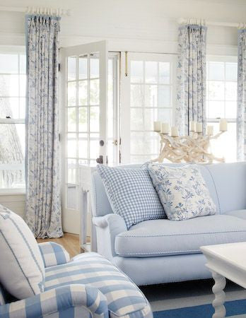Light blue sofas for home decore