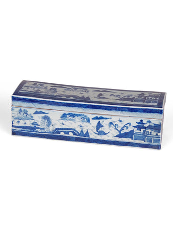 Blue and White Canton Box