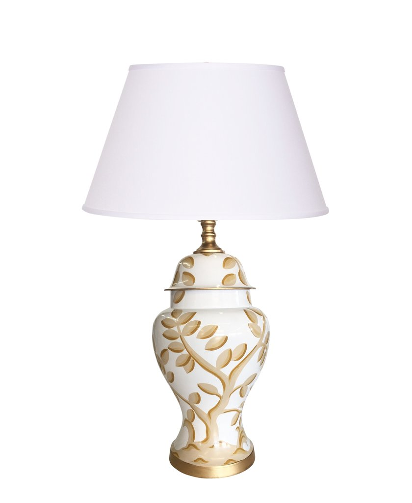 Cliveden Taupe Lamp