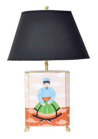 Emperor Lamp with Black Shade