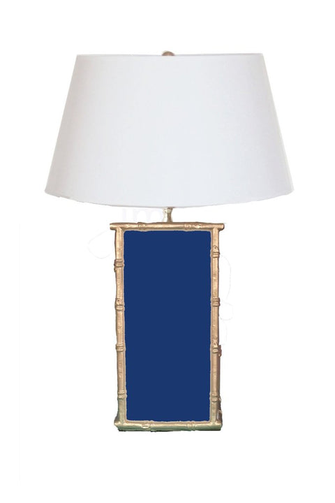 Bamboo Navy Lamp