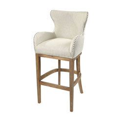 Roxy Linen Bar Chair