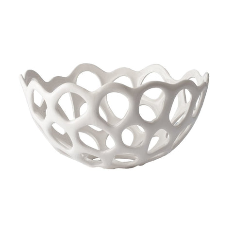 Perforated Porcelain Bowls
