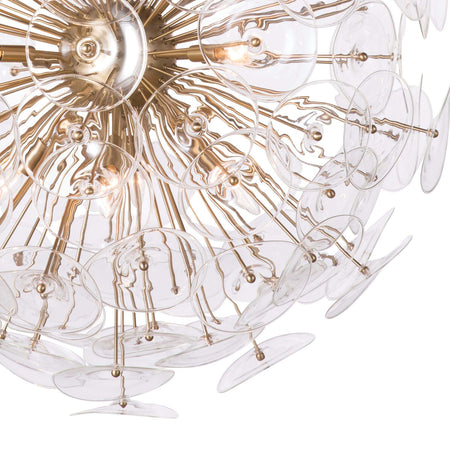 Poppy Glass Chandelier