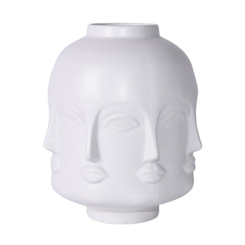 Matte White Face Jar Short