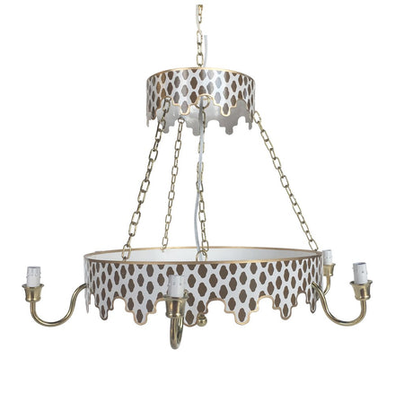Parsi Chandelier in Brown