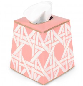 Cane Tissue Box Cover