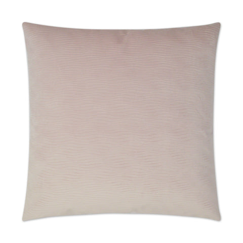Stream Square Blush Pillow