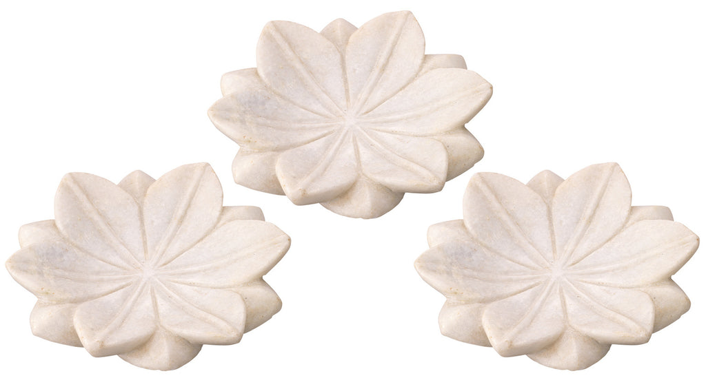 Small Lotus Marble Plate