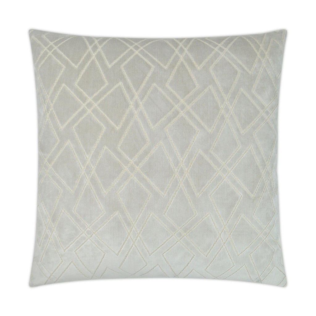 Shattered Square Oyster Pillow