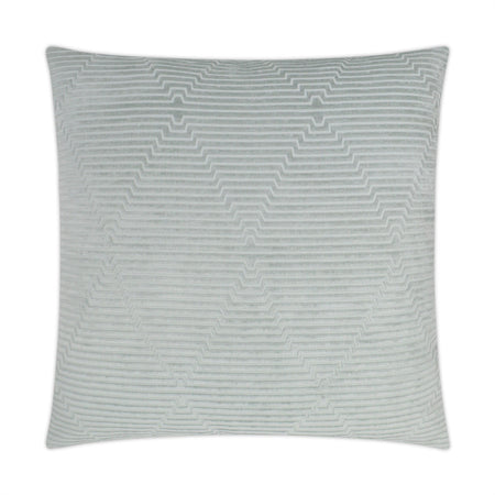 Outline Square ivory Pillow