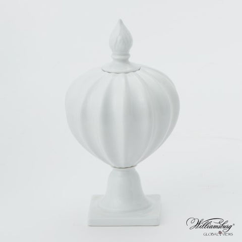 Beaufort Flame Bottle in White