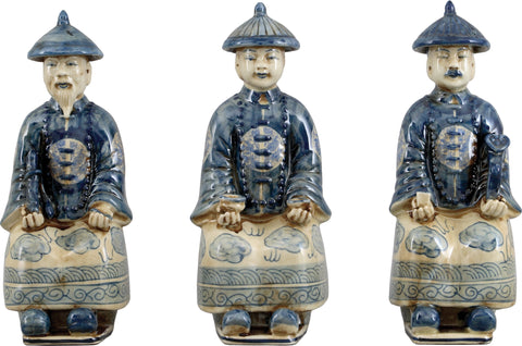 Set of 3 Royal Figures