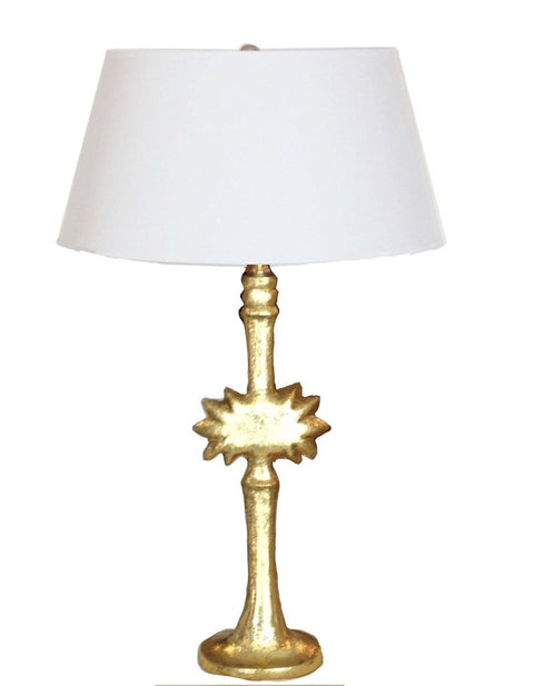Salutation Lamp in Gold