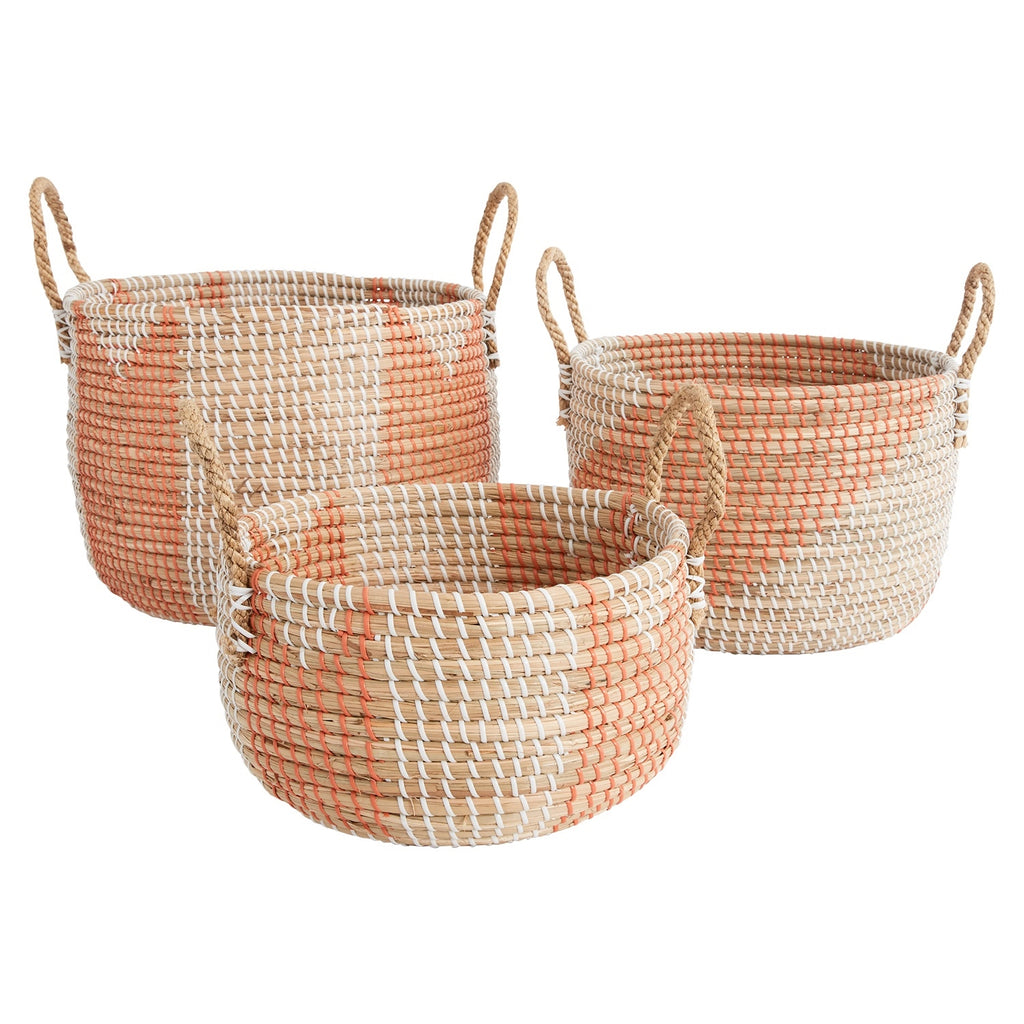 Summer Basket Set of 3