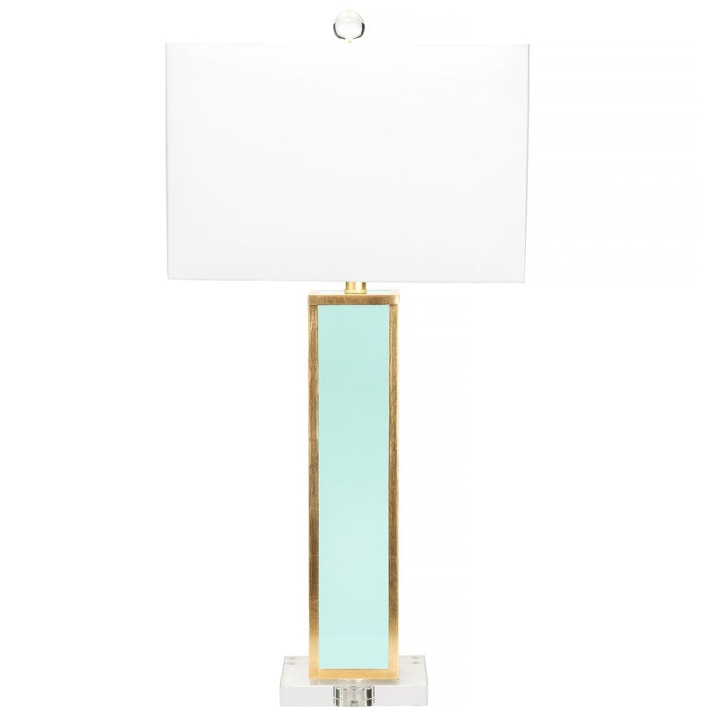 Blair Table Lamp, Mint Green