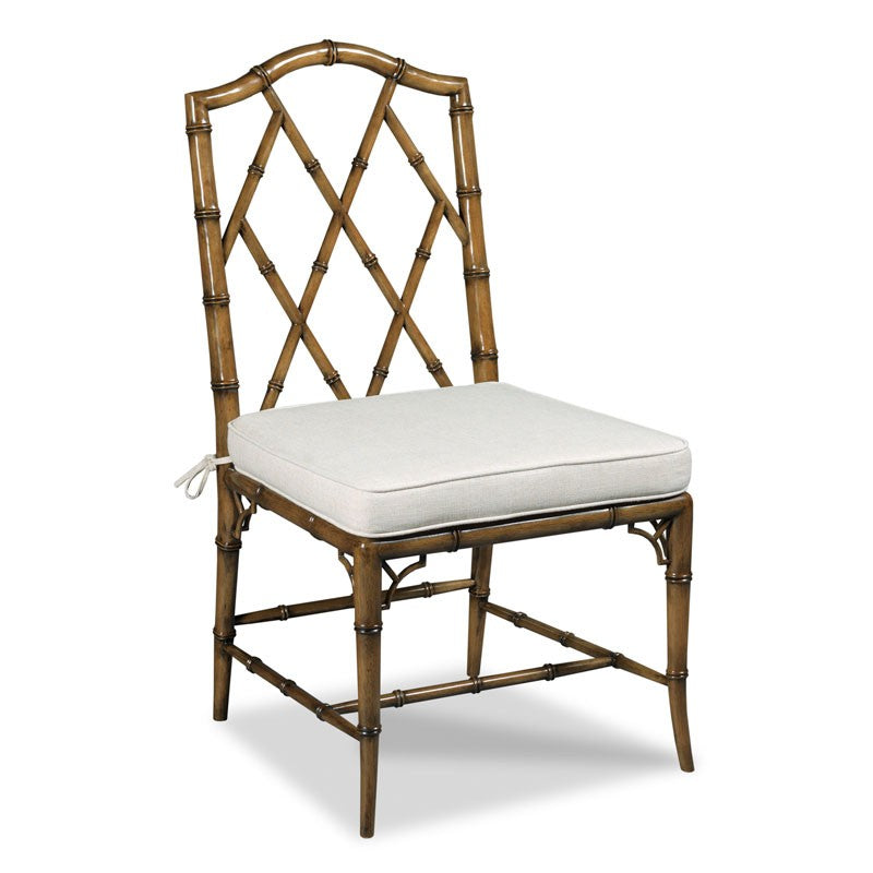 Faux Bamboo Side Chair