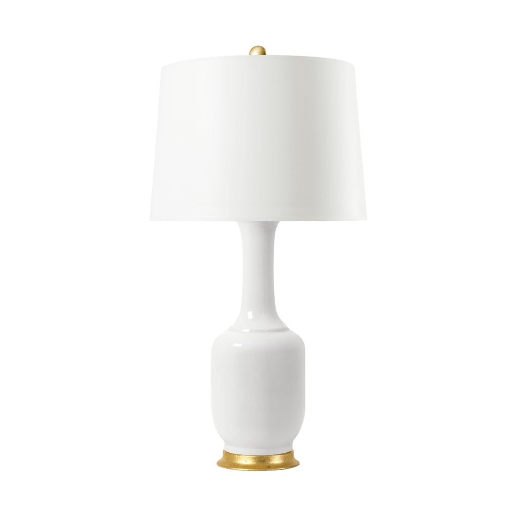 Amatista Lamp in White