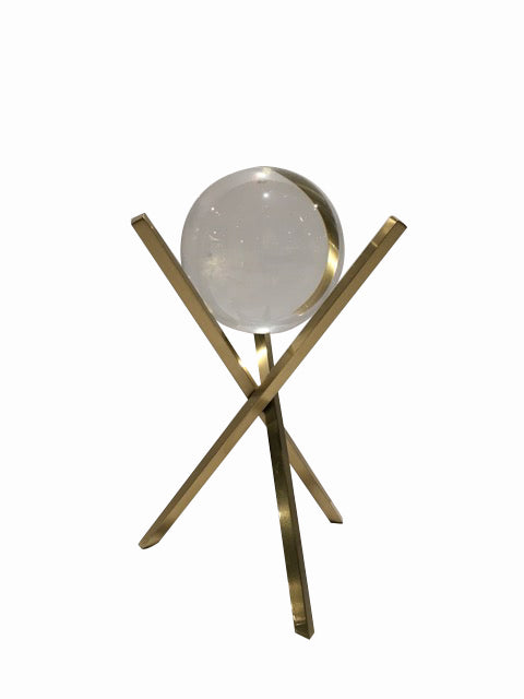 Crystal Ball Gold X stick stand