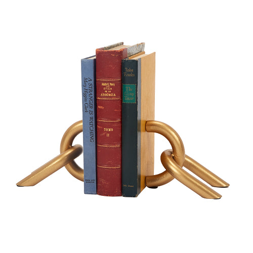 Golden Chain Bookends