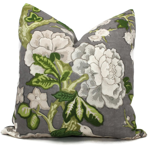 Bermuda Blossoms Pillow