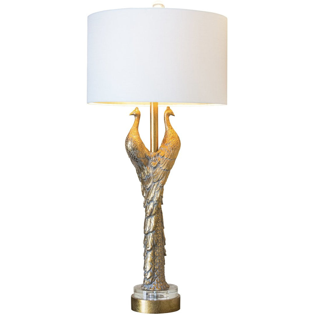 Golden Glamour Table Lamp