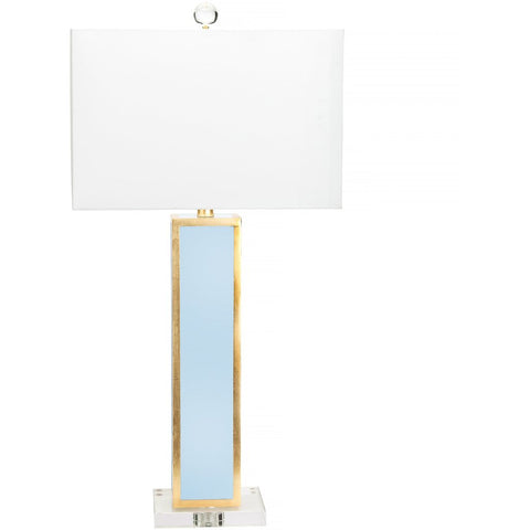 Blair Table Lamp, Robin Egg Blue