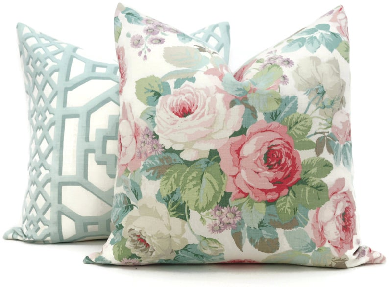 Chelsea Rose Pillow