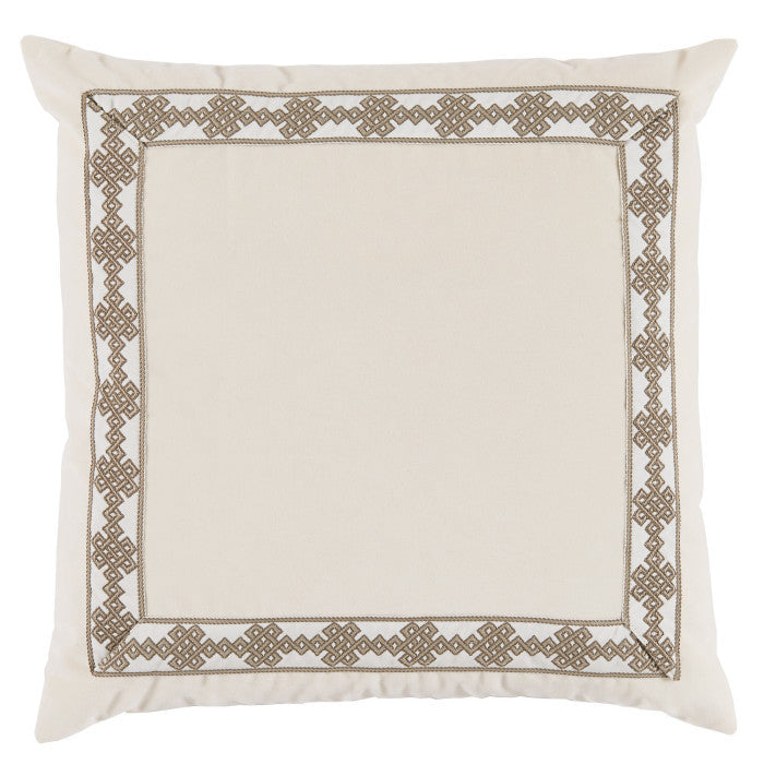 Fleece Velvet Lacefield Pillow