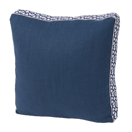 Navy Linen with Florence Tape Gusset