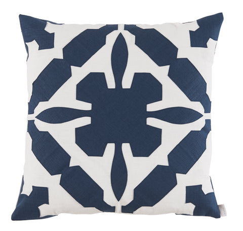 Gloria Applique Throw Pillow