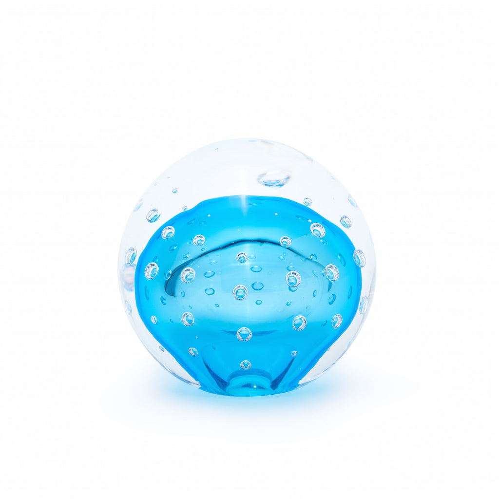 Dante Paperweight in Light Blue