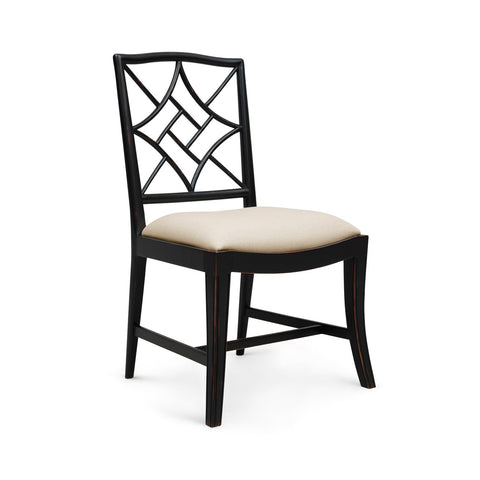 Evelyn Side Chair in Black