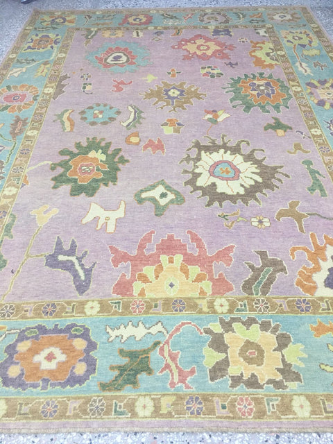 Lavender Turkish Rug