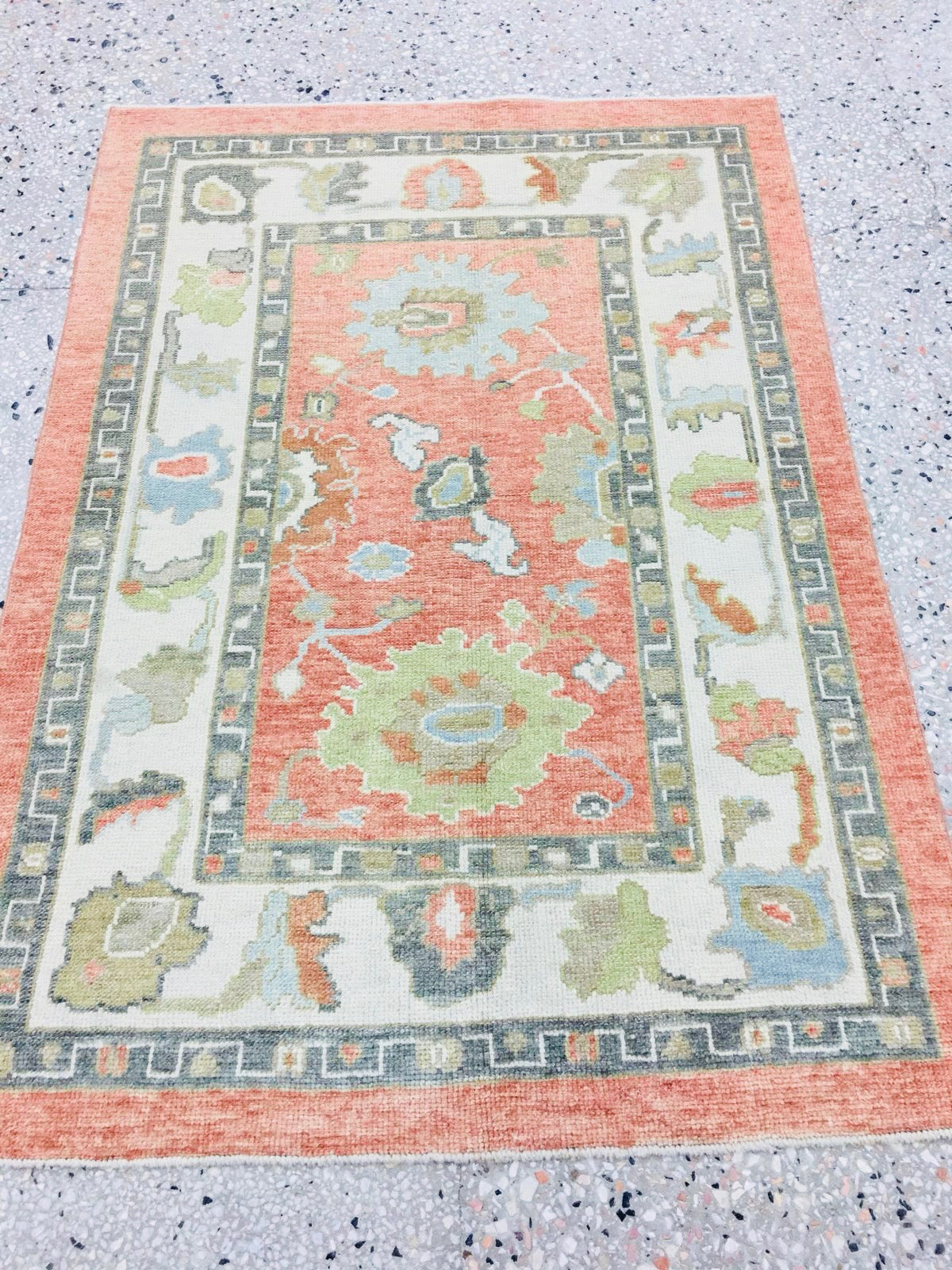 antique more oushak rugs rug turkish c