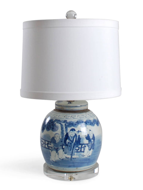 Figures Jar Lamp