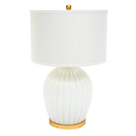 Paula Lamp with Gold Accents