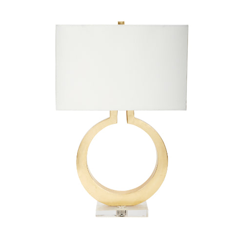Equinox Gold Leaf Lamp