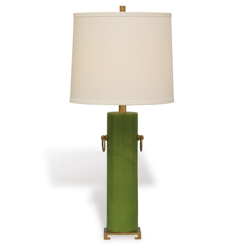Beverly Lamp in Apple Green