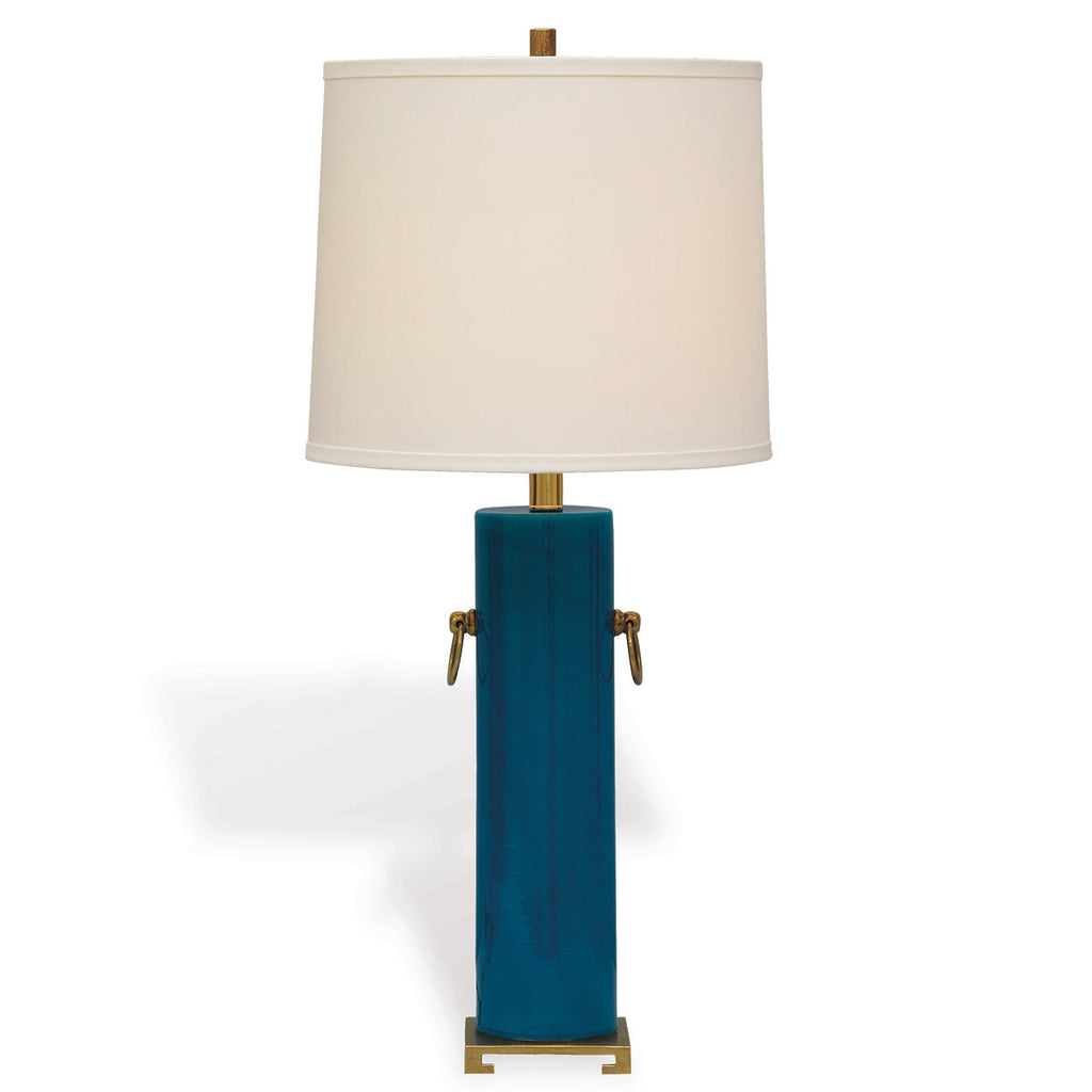 Beverly Lamp in Turquoise