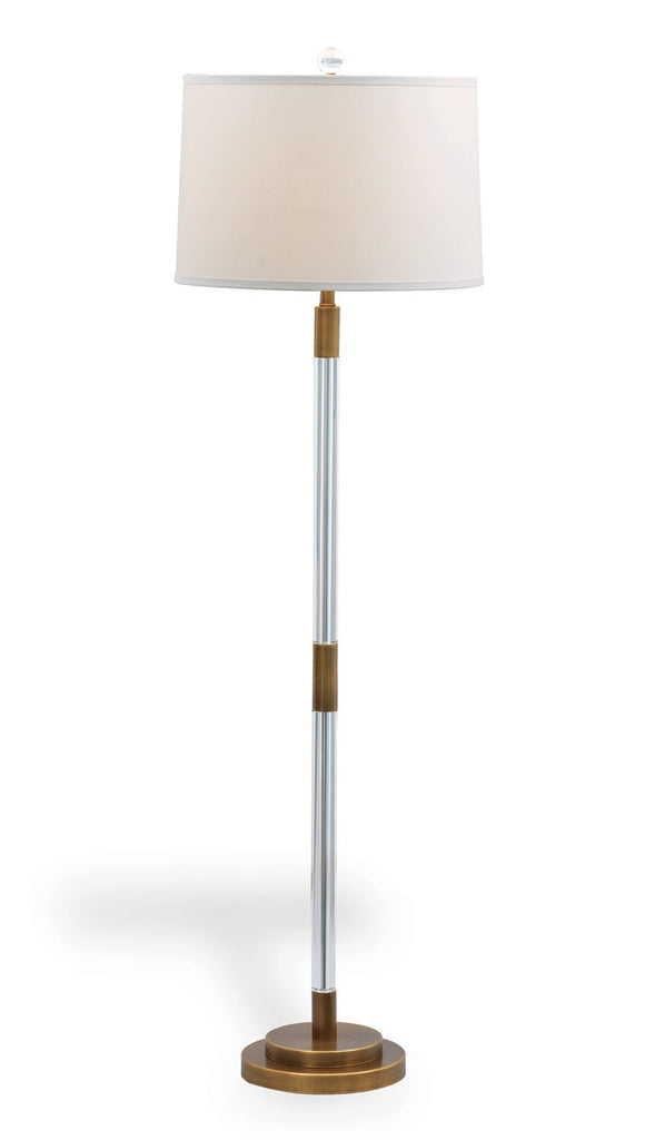 Maxwell Brass Floor Lamp