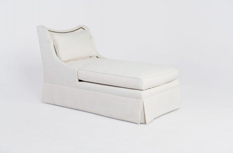 Lennox Skirted Chaise