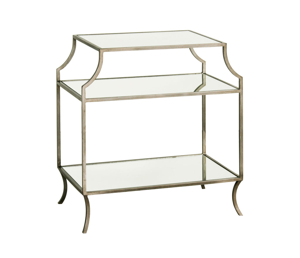 Milla Mirrored Side Table