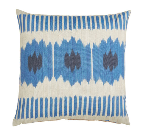 Outdoor Cyprus Indigo Pillow
