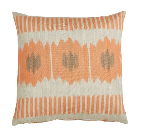 Outdoor Cyprus Coral Pillow