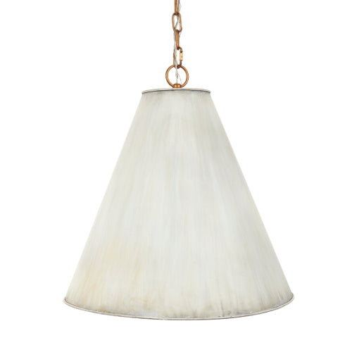 Nicole Metal Pendant in Cream
