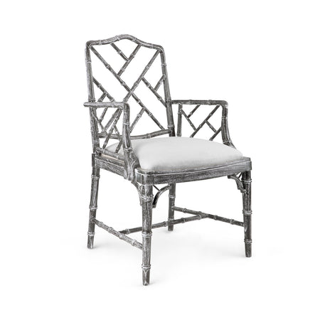 Quay Arm Chair in Gray