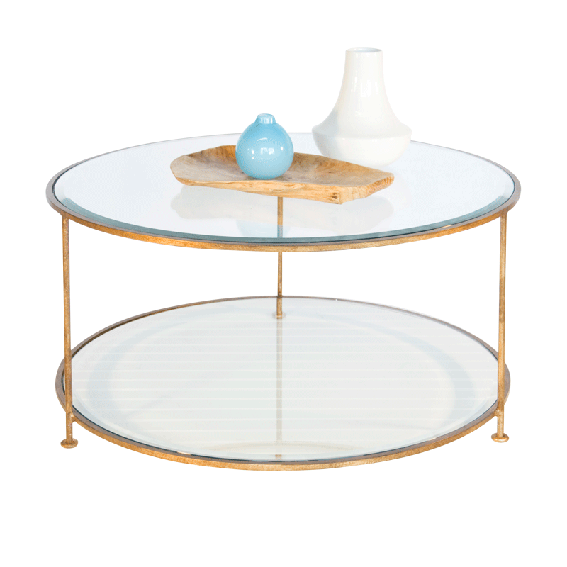 Rollo Gold Cocktail Table