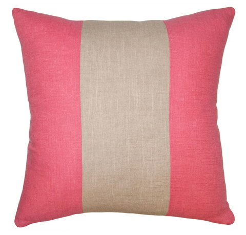 Savvy Hue Pink and Driftwood Pillow