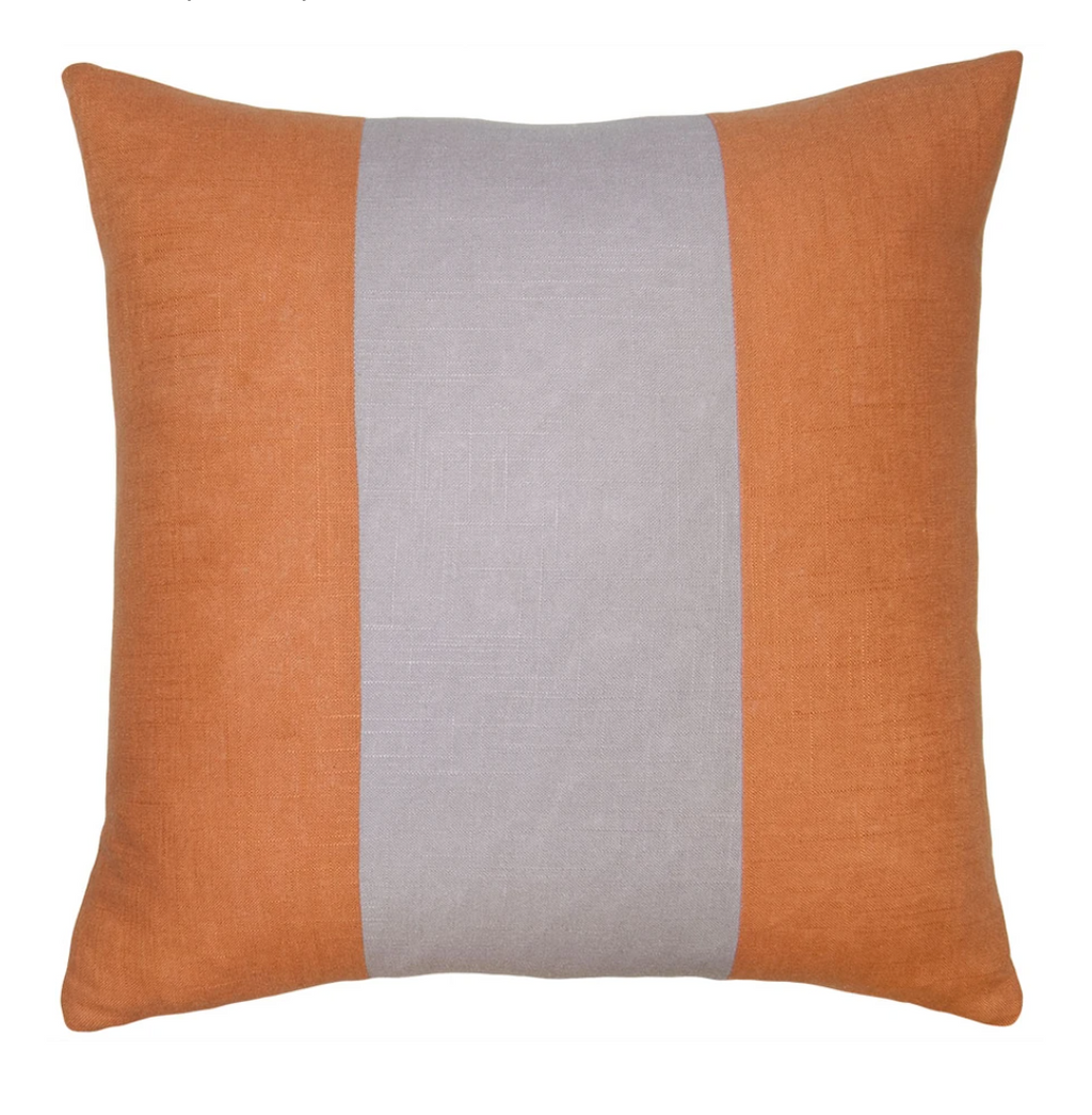 Savvy Hue Clay with Lavender Pillow